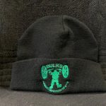 Bulks Embroidered Black Beanie Hat - One Size